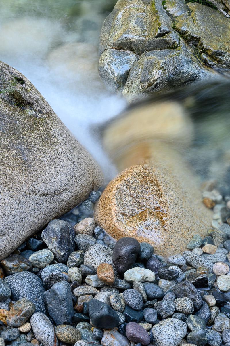 Pebbles, Rocks, Boulders at Lynn Creek