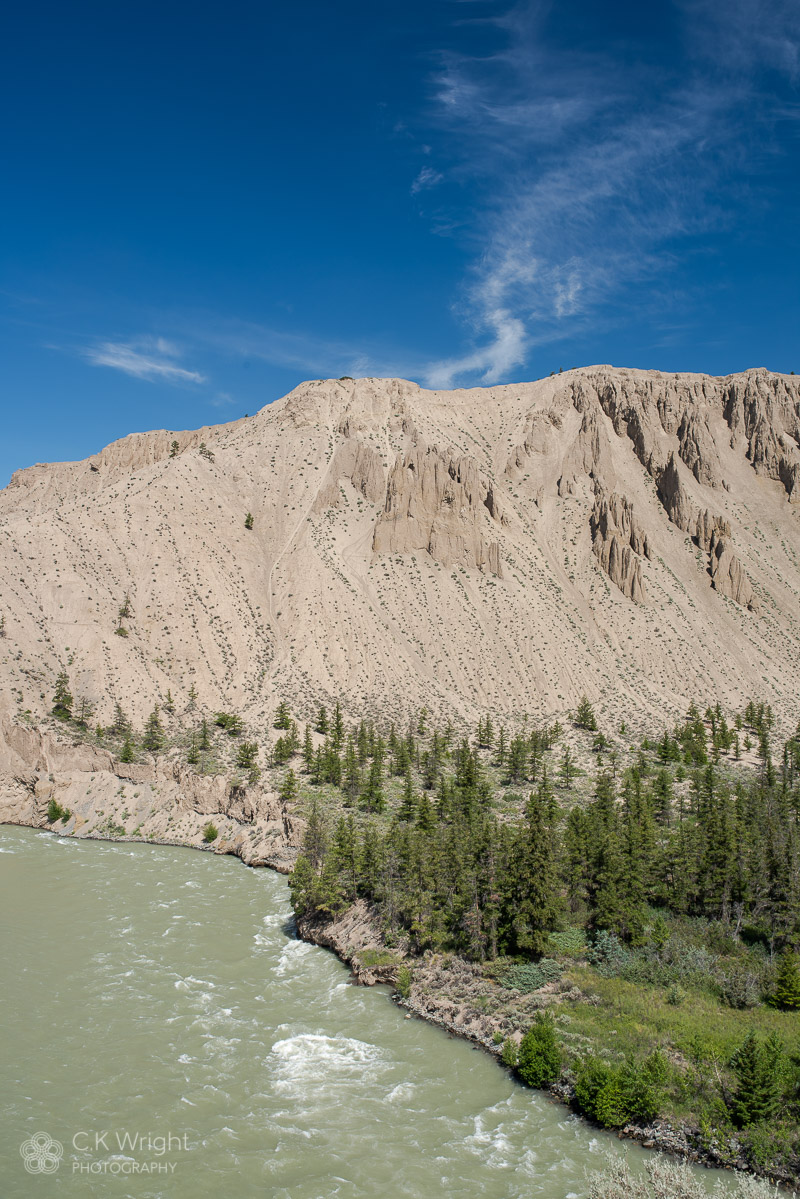 Chicoltin River, Sand Dunes, Farwell Canyon