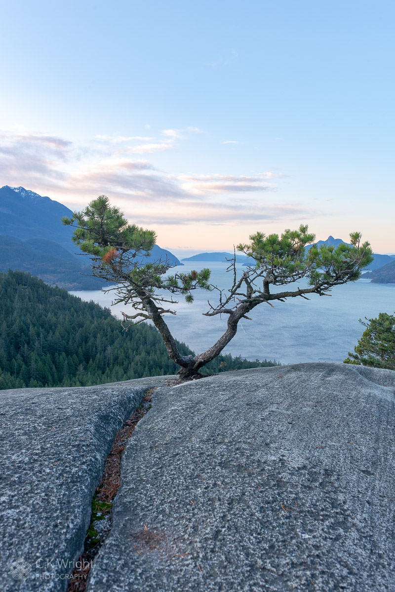 Howe Sound from Murrin Provincial Park