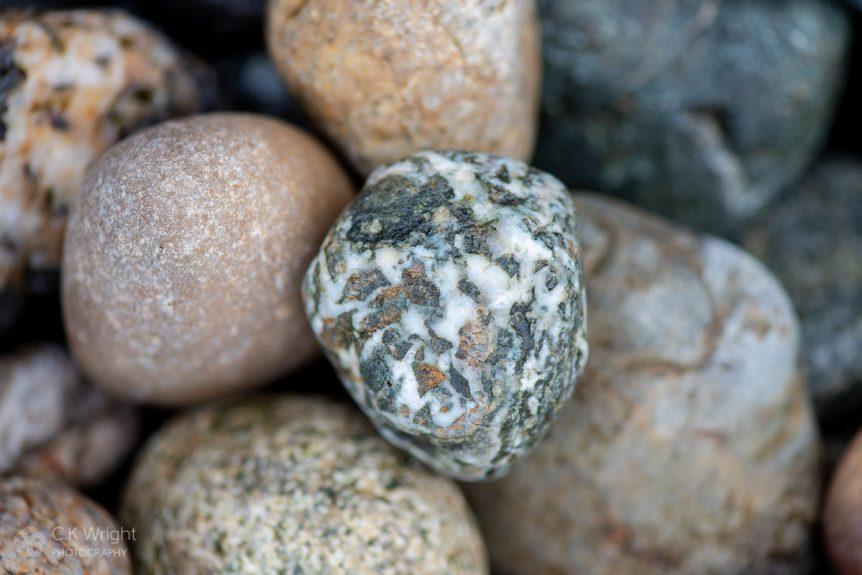 White Pebble at Tower Beach