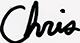 Signature of Chris